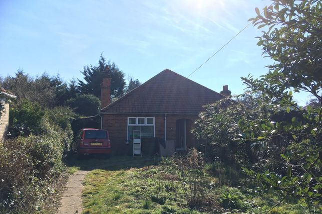 Thumbnail Detached bungalow for sale in Plumstead Road, Norwich, Norfolk