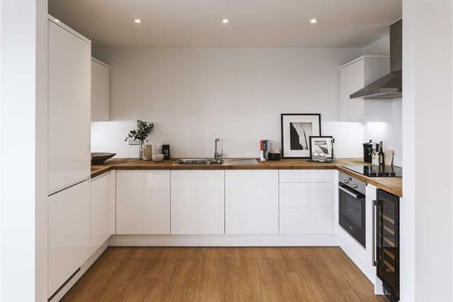 Thumbnail Flat for sale in Fusion Court, Stratford, London