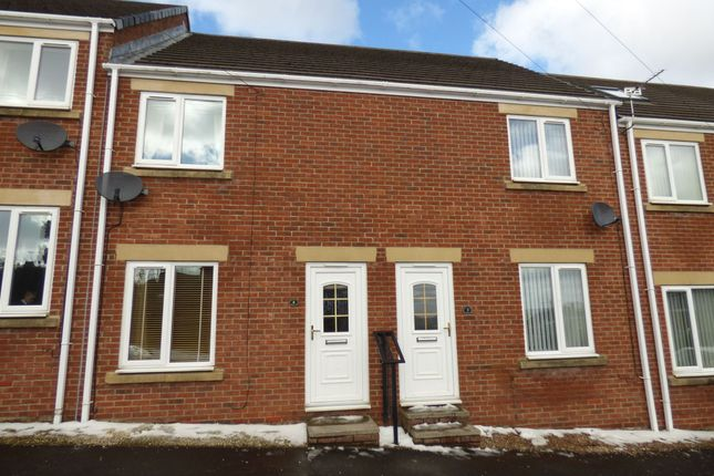 Thumbnail Terraced house to rent in Plantation Court, Greenside, Ryton