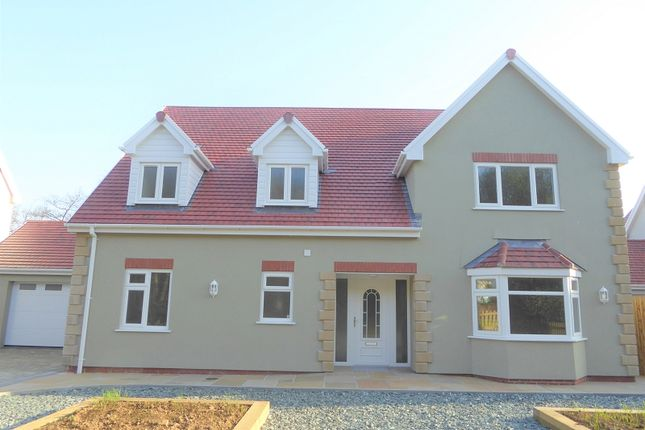 Thumbnail Detached house for sale in Greenfields, Heol-Y-Cyw, Bridgend