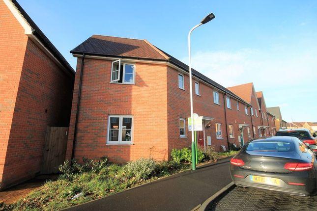 Thumbnail Semi-detached house to rent in Bernwelle Avenue, Romford