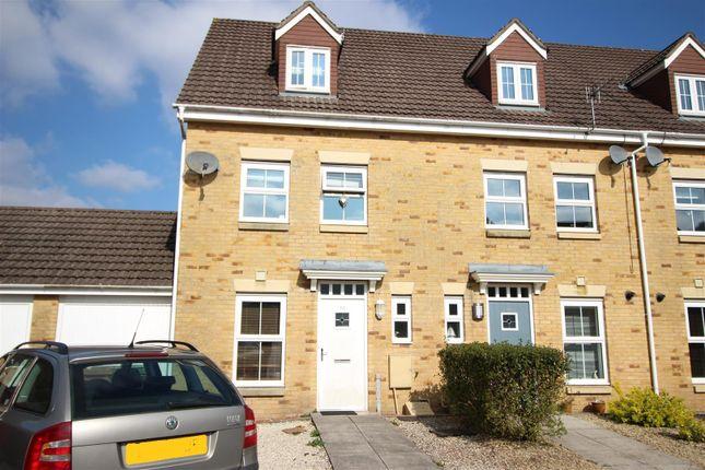 Thumbnail Terraced house for sale in Coed Celynen Drive, Abercarn, Newport