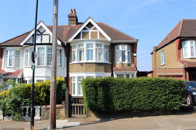 Thumbnail Semi-detached house for sale in Wroxham Gardens, Muswell Hill Borders, London