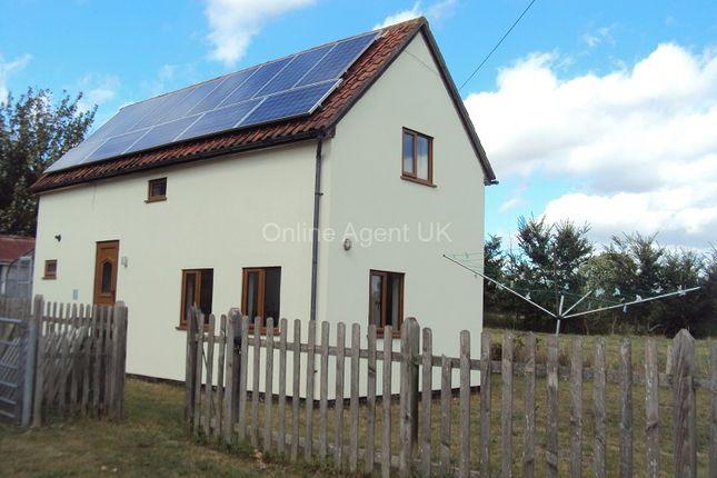 Thumbnail Detached house to rent in High Road, Needham, Harleston, Norfolk.