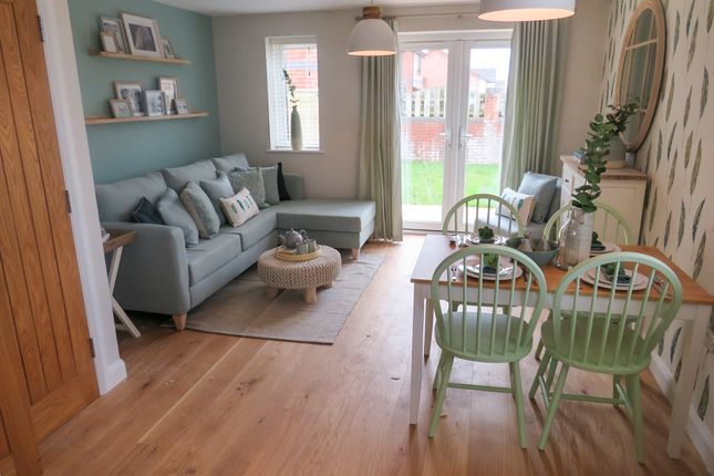 Thumbnail Terraced house for sale in Feniton Park, Feniton, Honiton