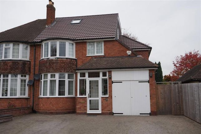 Thumbnail Semi-detached house for sale in Dalkeith Road, Sutton Coldfield