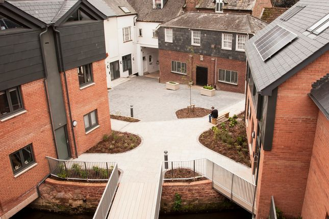 Thumbnail Flat to rent in The Leat, Tudor Street, Exeter, Devon