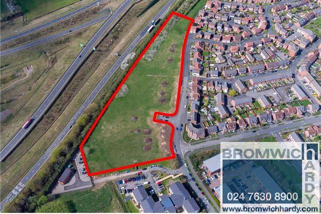 Thumbnail Land for sale in Goggbridge Lane, Tournament Fields, Warwick