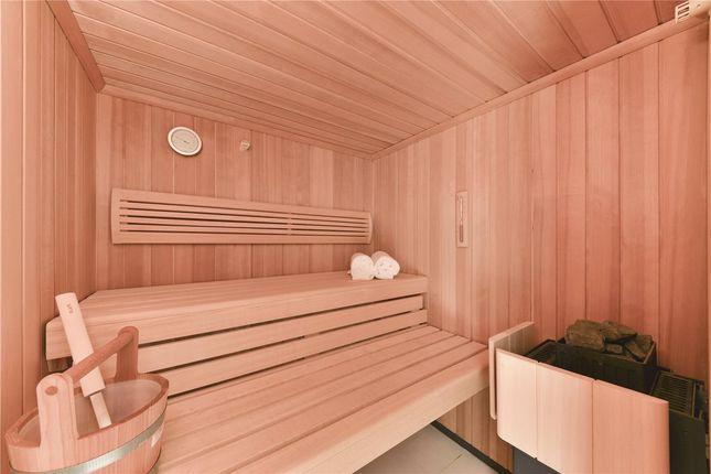 Sauna of Upper Phillimore Gardens, Kensington, London W8