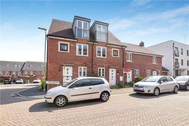 Thumbnail End terrace house for sale in Sinclair Drive, Basingstoke, Hampshire