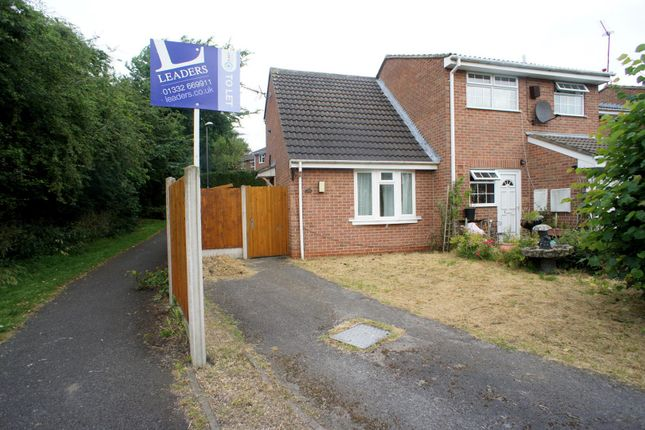 Thumbnail Town house to rent in Roseberry Court, Oakwood, Derby