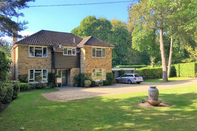 Thumbnail Detached house for sale in Knightsbridge Road, Camberley, Surrey
