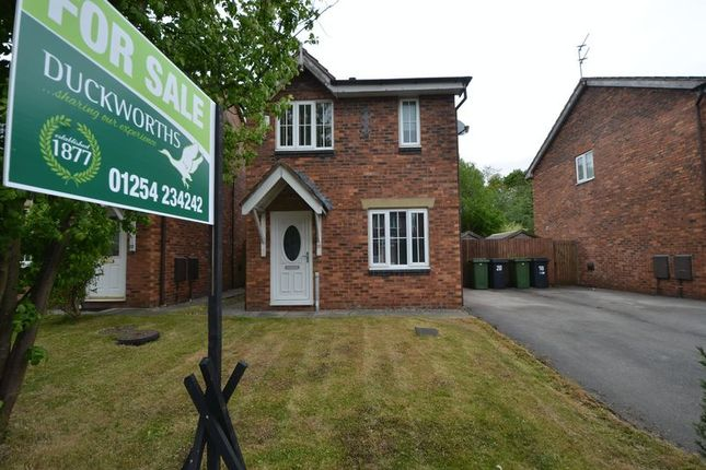 Thumbnail Detached house for sale in Blossom Avenue, Oswaldtwistle, Accrington