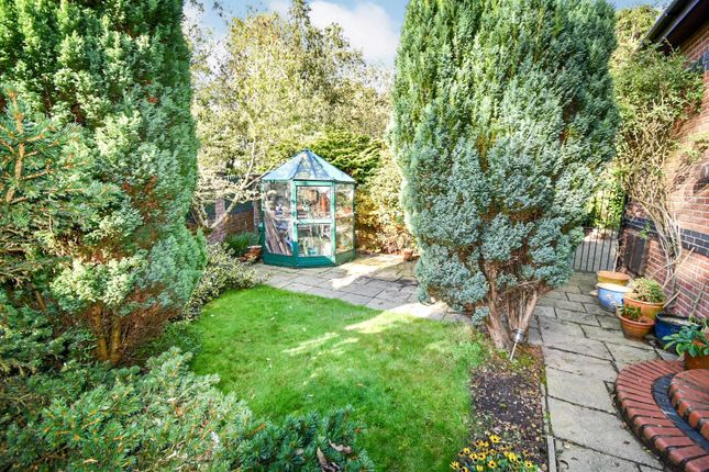 Side Garden of Lee Fold, Astley, Tyldesley, Manchester M29