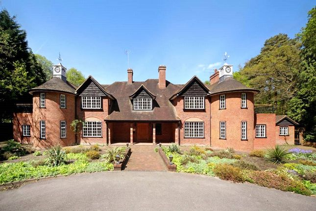 Thumbnail Detached house for sale in Wellingtonia Avenue, Crowthorne, Berkshire