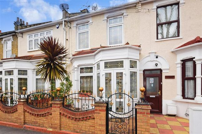 Thumbnail Terraced house for sale in Strone Road, Manor Park, London