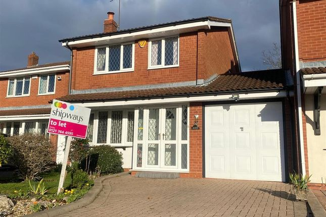 Thumbnail Property to rent in Newey Road, Hall Green, Birmingham