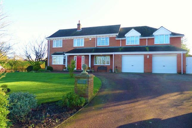 Thumbnail Detached house for sale in Station Road, Ludborough, Grimsby