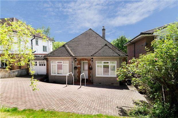 Thumbnail Detached bungalow for sale in Godstone Road, Kenley, Surrey