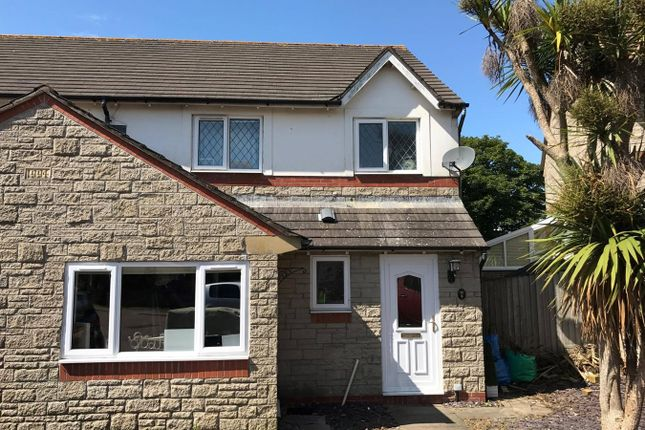 Thumbnail Semi-detached house for sale in Gildas Close, Llantwit Major