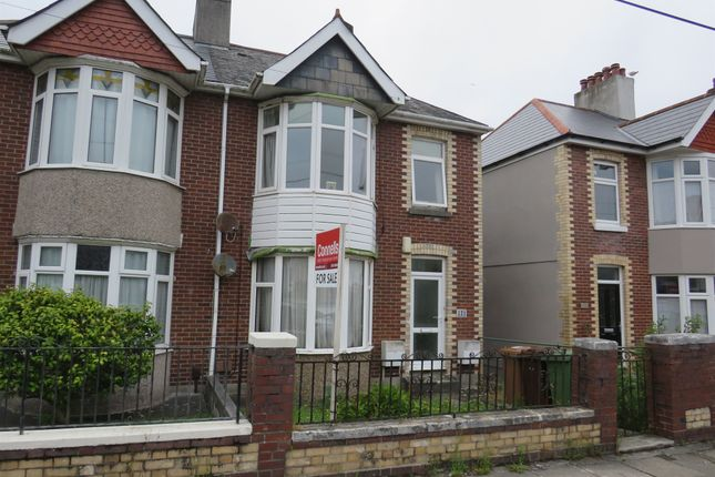 Thumbnail Flat for sale in Ladysmith Road, Plymouth