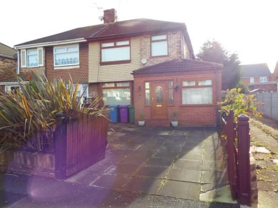 Thumbnail Semi-detached house for sale in Barford Road, Hunts Cross, Liverpool, Merseyside