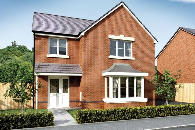 Thumbnail 4 bed detached house for sale in Bedwellty Field, Pengam Road, Aberbargoed