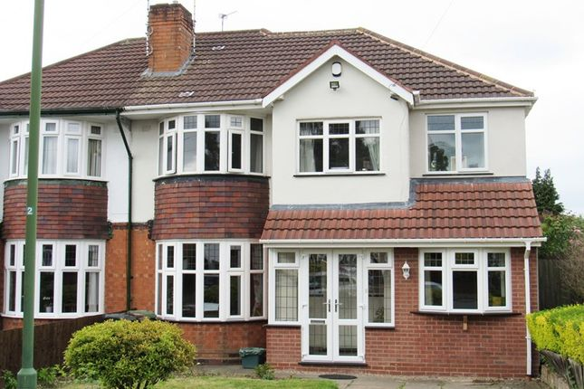 Thumbnail Semi-detached house for sale in Wells Green Road, Solihull
