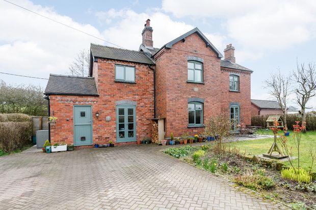 Thumbnail Detached house for sale in Park Lane, Stoke-On-Trent