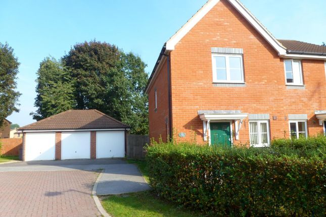 Thumbnail Semi-detached house to rent in Hercules Road, Rendlesham, Woodbridge