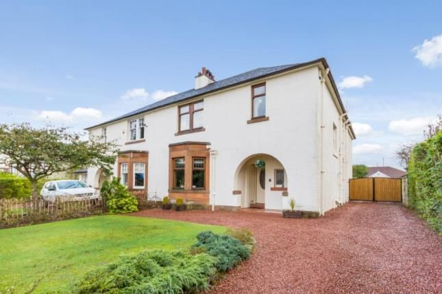 Thumbnail Semi-detached house for sale in Milverton Road, Lower Whitecraigs, East Renfrewshire