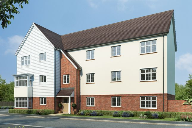Thumbnail Flat for sale in London Road, Aylesford