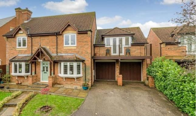 Detached house for sale in Blackwell Place, Shenley Brook End, Milton Keynes, Buckinghamshire