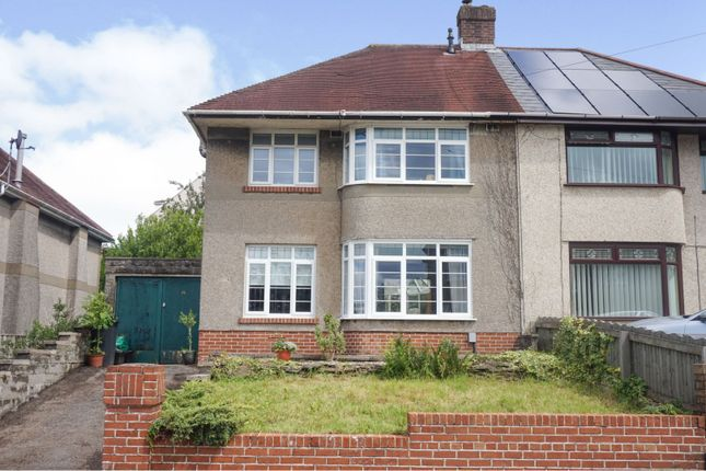 Thumbnail Semi-detached house for sale in Westernmoor Road, Neath