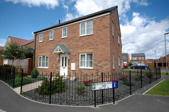 Thumbnail Detached house for sale in De Havilland Way, Hartlepool