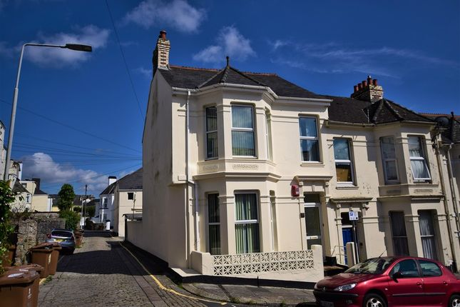 Thumbnail End terrace house for sale in Grafton Road, Mutley, Plymouth
