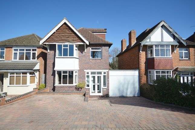 Thumbnail Link-detached house for sale in Burman Road, Shirley, Solihull