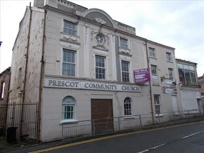 Thumbnail Office for sale in Prescot Community Church, Kemble Street, Prescot