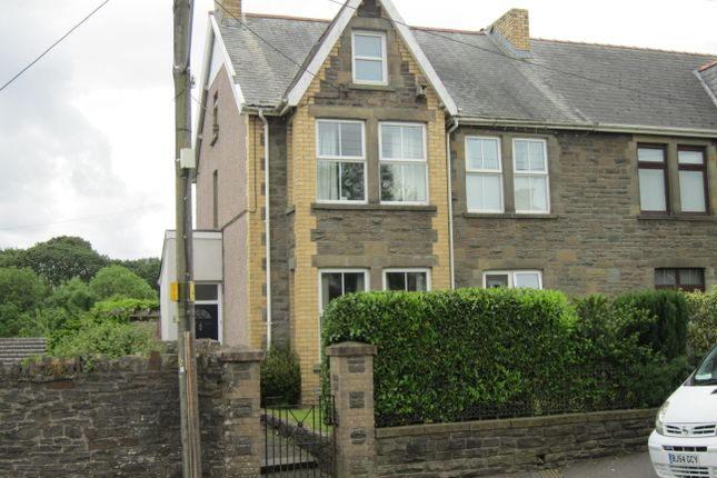Thumbnail Semi-detached house for sale in Moorland Road, Bargoed