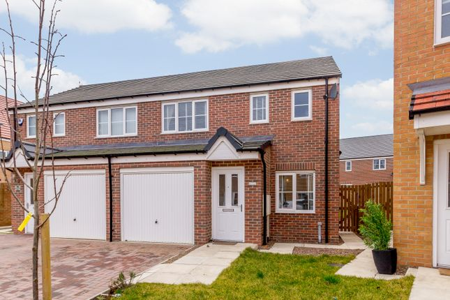 Thumbnail Semi-detached house for sale in Cornwall Way, Blyth
