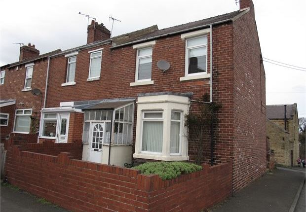 Thumbnail End terrace house for sale in Willow View, Burnopfield, Newcastle Upon Tyne.