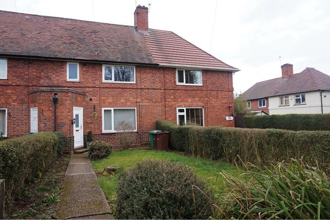 Thumbnail Terraced house for sale in Fulwood Crescent, Nottingham