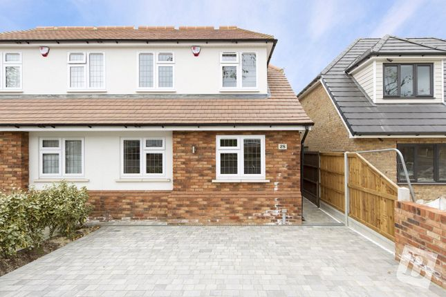 Thumbnail Semi-detached house for sale in Homeway, Harold Park, Essex