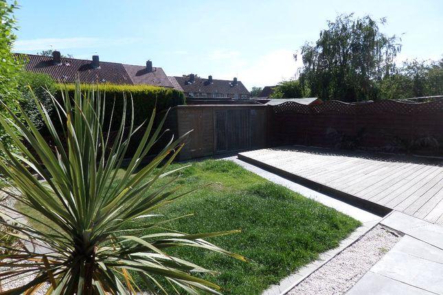 Back Garden of Bewick Crescent, Newton Aycliffe DL5