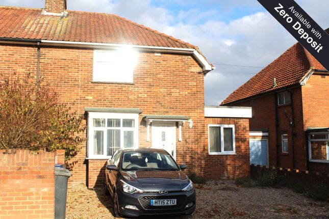 Thumbnail Semi-detached house to rent in Mandeville Road, Canterbury