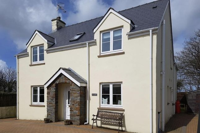 4 bed detached house for sale in St. Davids Road, Letterston, Haverfordwest SA62