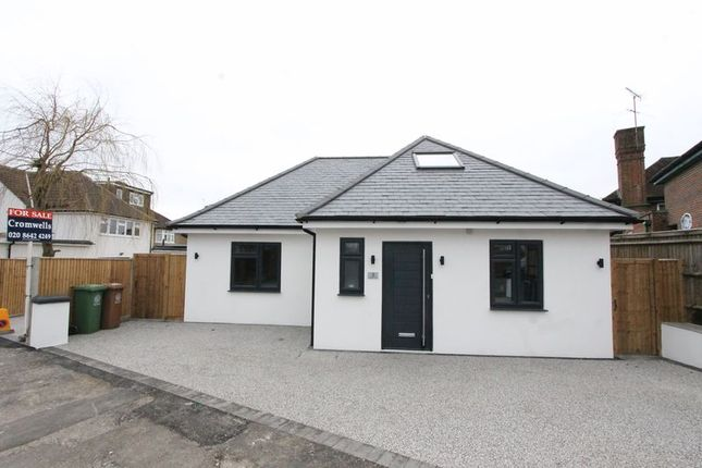 Thumbnail Detached bungalow for sale in Chertsey Drive, North Cheam, Sutton