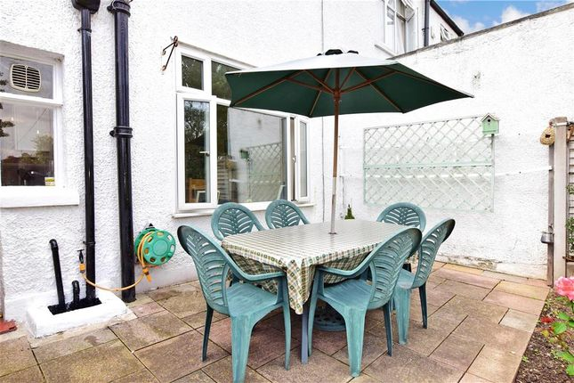 Patio / Decking of Hamilton Avenue, Ilford, Essex IG6