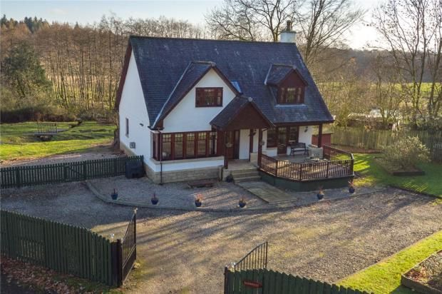 Thumbnail Detached house for sale in Glenfoot, Muirlands, Alexandria, Argyll And Bute