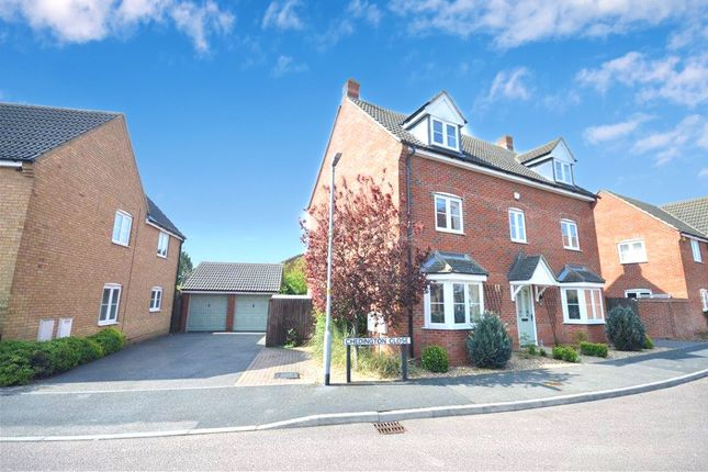 Thumbnail Detached house for sale in Chedington Close, Barton Seagrave, Kettering